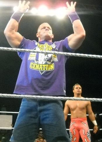 John Cena in Purple Shirt