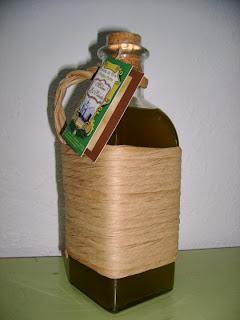 Botella Aceite el salado