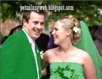 cara ganti serta ubah dan edit background latar belakang foto pernikahan dan prewedding