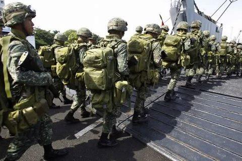 Spratly Island Philippines Marines