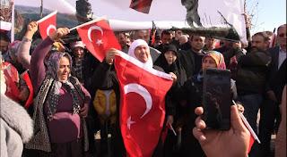 Çumra'dan Hatay'a Mehmetçik için destek