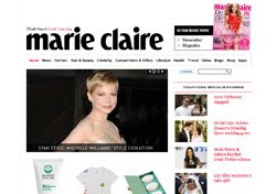 Marie Claire refreshes its website