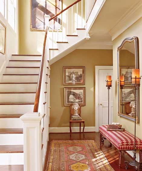New Home Interior Design Traditional Hallway: New Home Interior Design: Splendid Sass