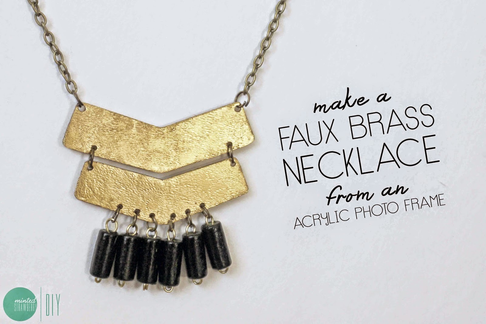 DIY: Another Aztec-Inspired Accessory - A Necklace - Minted Strawberry