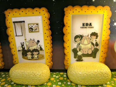 Biscuit seats in E-da Theme Park Candy Exhibition