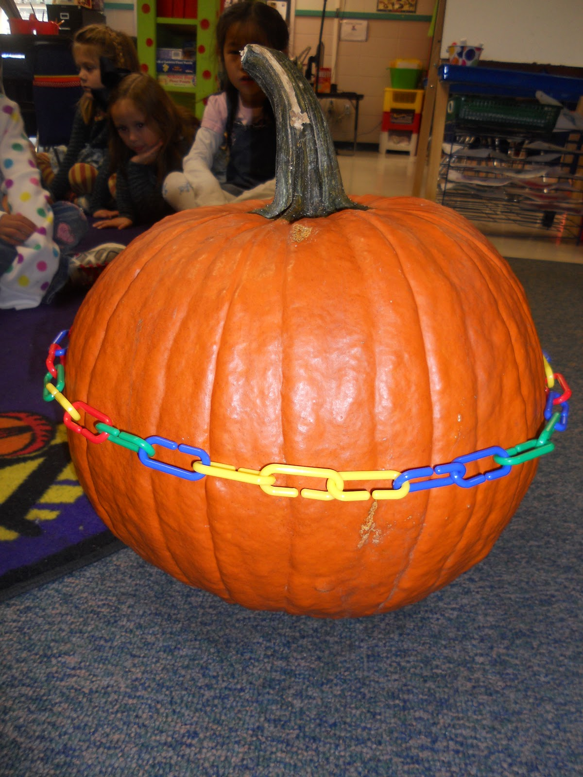 It is a graphic of Sizzling Pumpkin Craft for Kindergarten