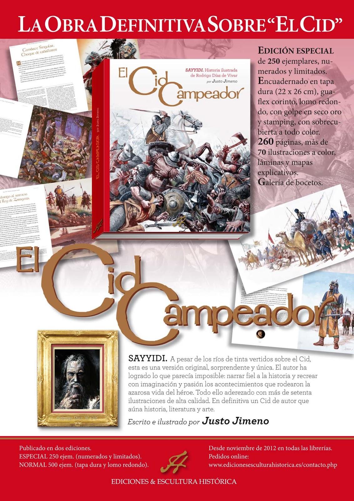 Por fin desde el pr ximo noviembre pod is adquirir el libro el cid campeador