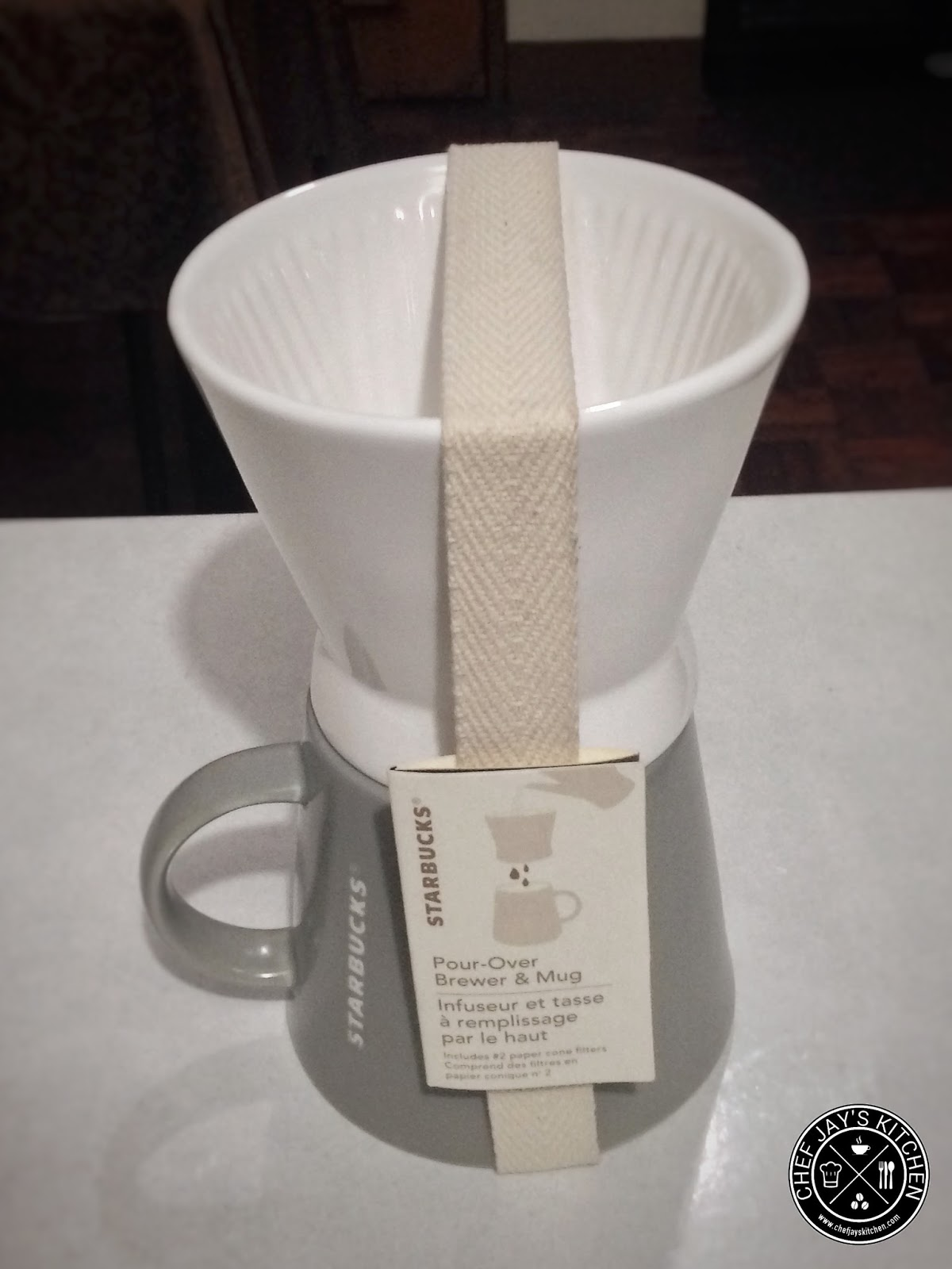 Starbucks Special Coffee Maker : Specialty Coffee Gear: The Starbucks Melitta Pour-Over Brewer Chef Jay s Kitchen