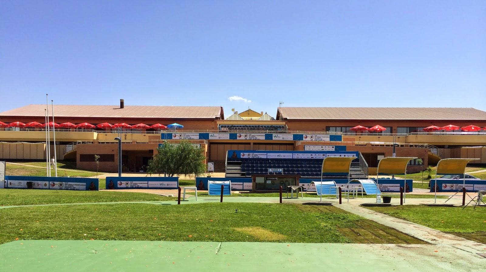 Campeonato Mundial de Tiro Esportivo começa a ser disputado segunda-feira, dia 08/09, no estande de Tiro Juan Carlos I em Granada - Foto: Real Federación de Tiro Olímpico/ Reprodução
