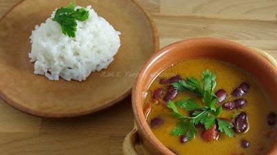 Fagioli rossi in salsa di cocco