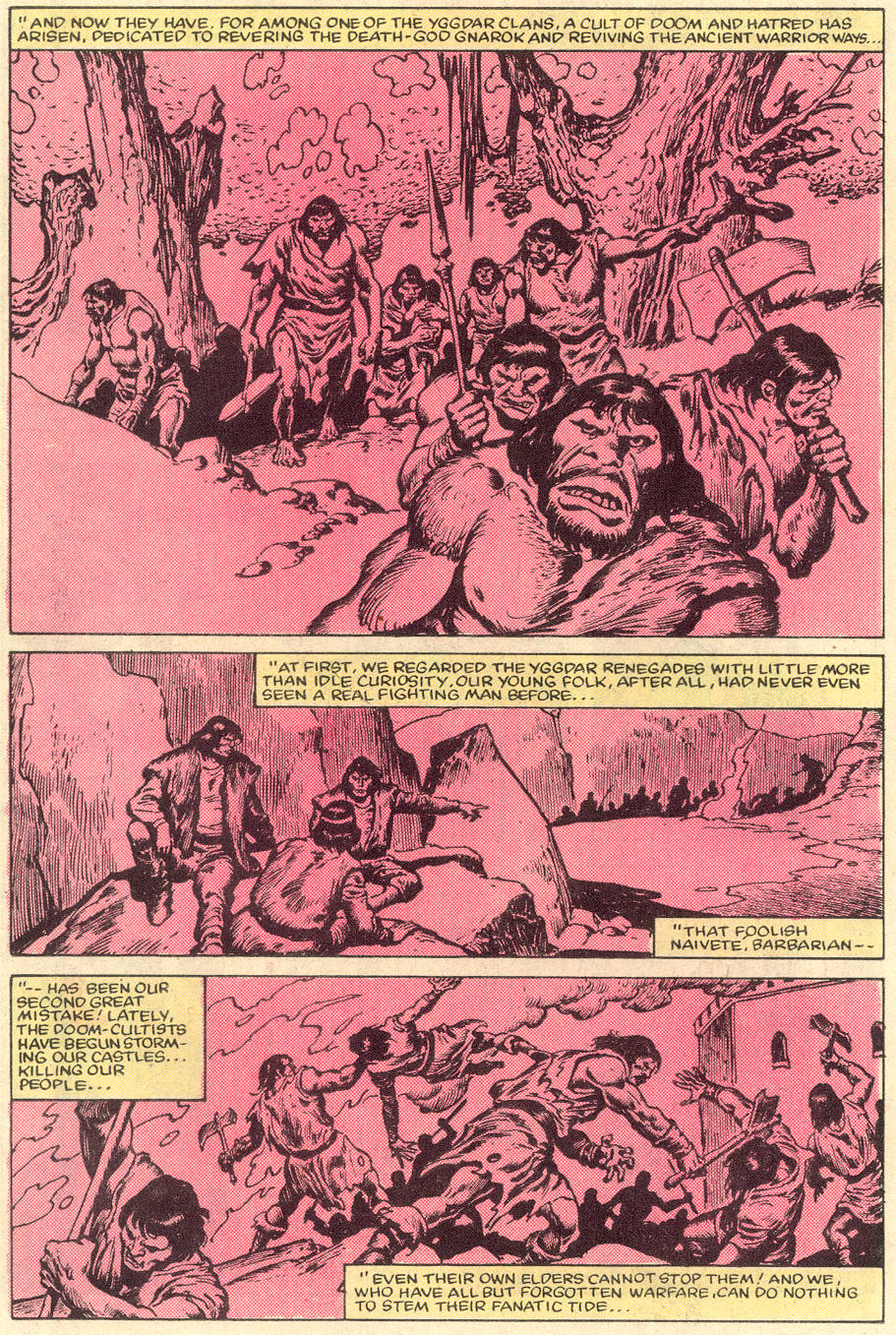 Conan the Barbarian (1970) Issue #151 #163 - English 12
