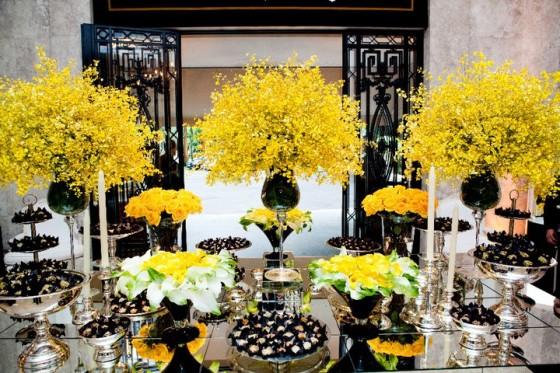 decoracao branco amarelo : decoracao branco amarelo:Nosso Dia Branco: Decoração – Preto, branco e amarelo