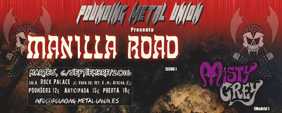 MANILLA ROAD EN MADRID