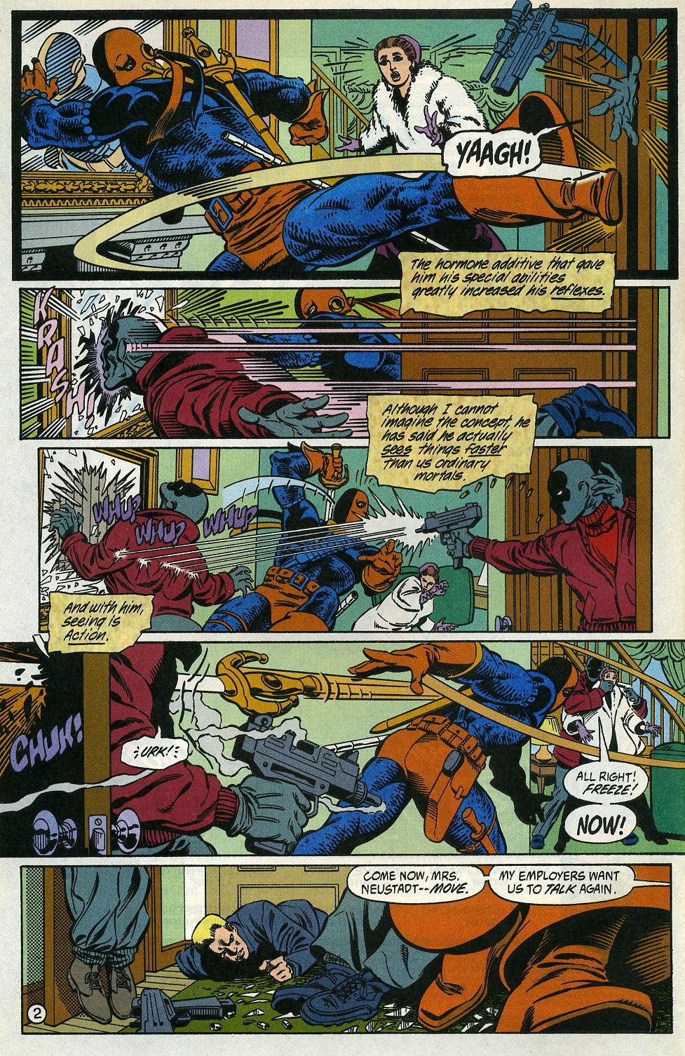 Deathstroke (1991) Issue #2 #7 - English 4