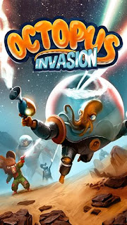 Screenshots of the Octopus: Invasion for Android tablet, phone.
