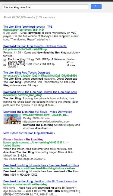 google listings