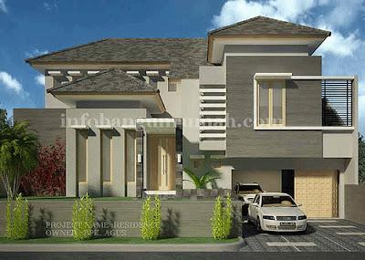 Desain Rumah 2 Lantai | desain rumah 2 lantai mediterania | desain rumah 2 lantai unik | desain rumah 2 lantai type 45 | desain rumah 2 lantai di hook