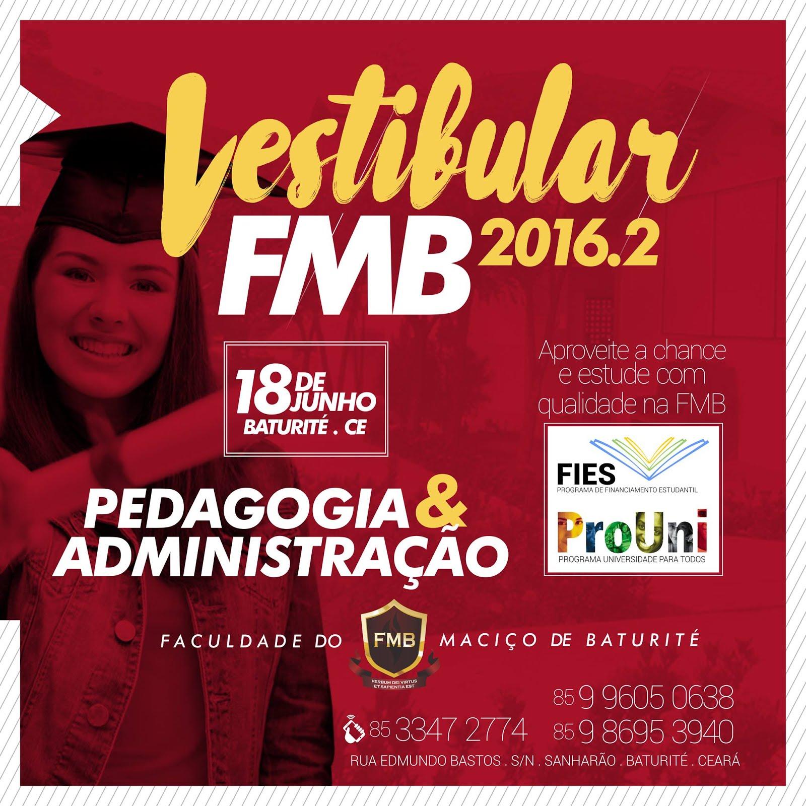 FMB - VESTIBULAR 2016.2