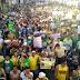 ATO PÚBLICO EM CAMPINA GRANDE: Multidão toma a praça da Bandeirta durante protesto contra Dilma