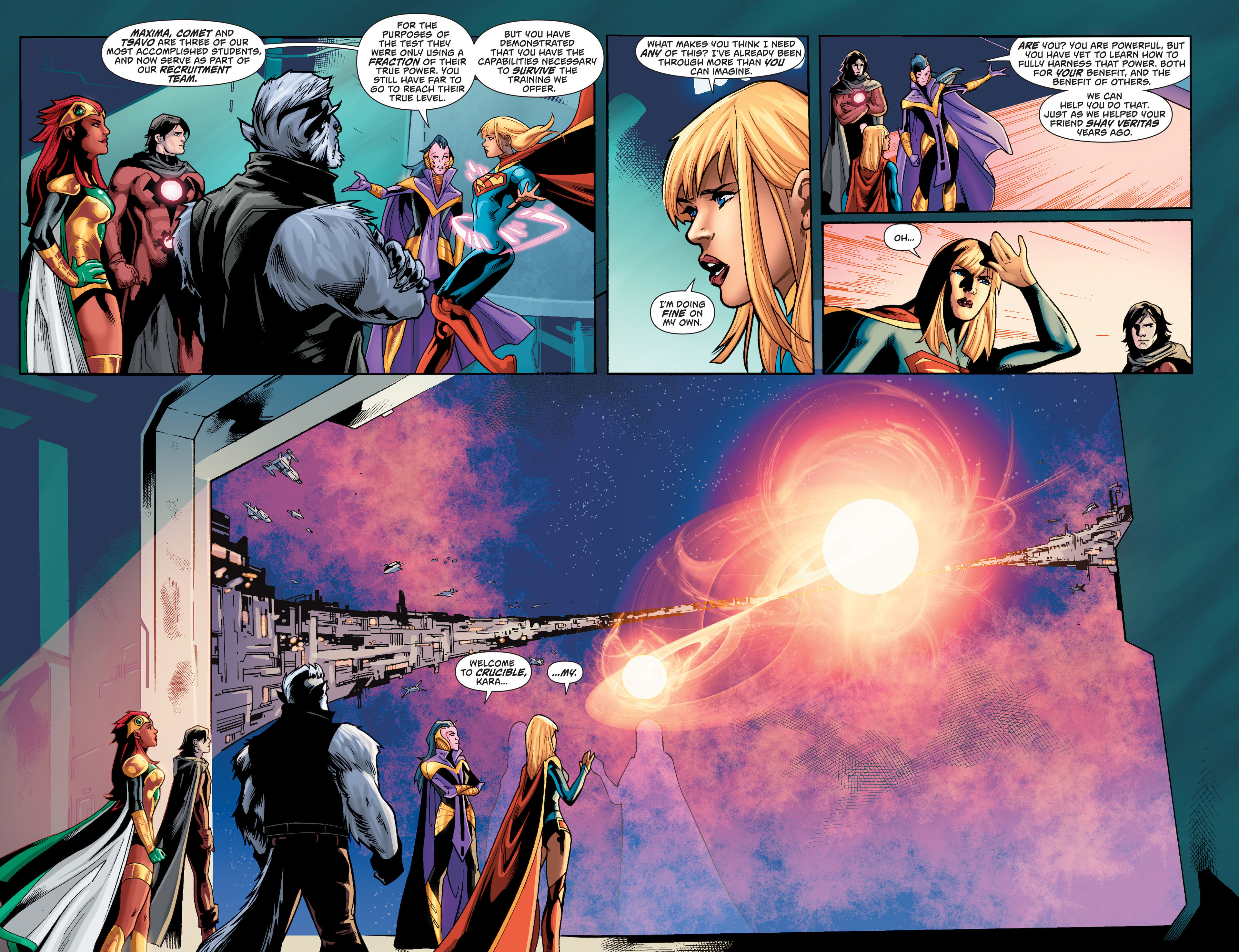 Supergirl (2011) Issue #36 #38 - English 19