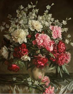 Jarrones-Flores-Cuadros Decorativos