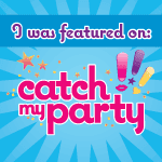Our Titanic Tea Party was featured on Catch my Party!