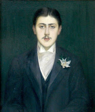 Portrait of Marcel Proust