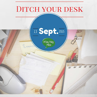 Miss, Hey Miss! Ditch your teacher desk