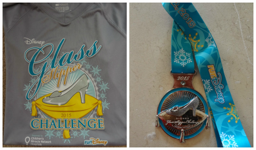 Glass slipper challenge medal