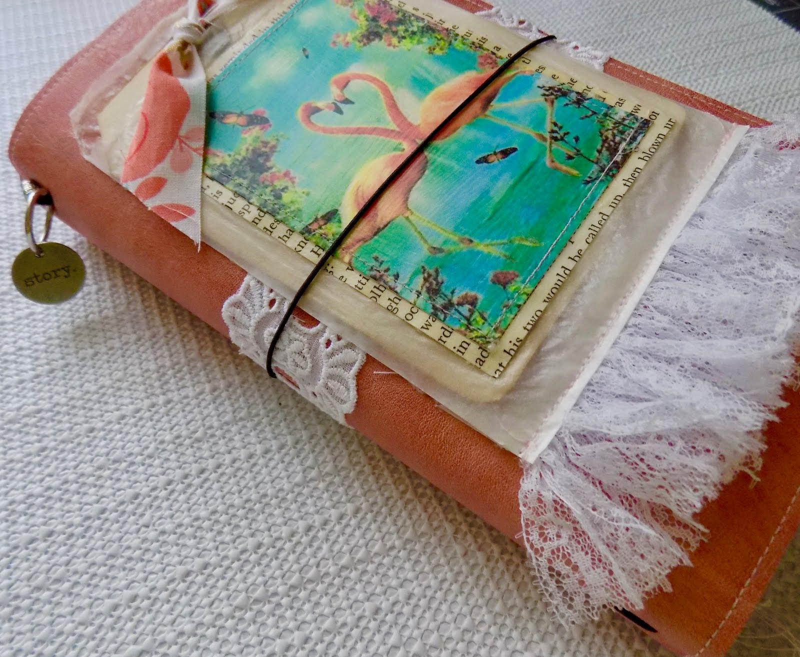 FOR SALE: Flamingo Travelers Notebook