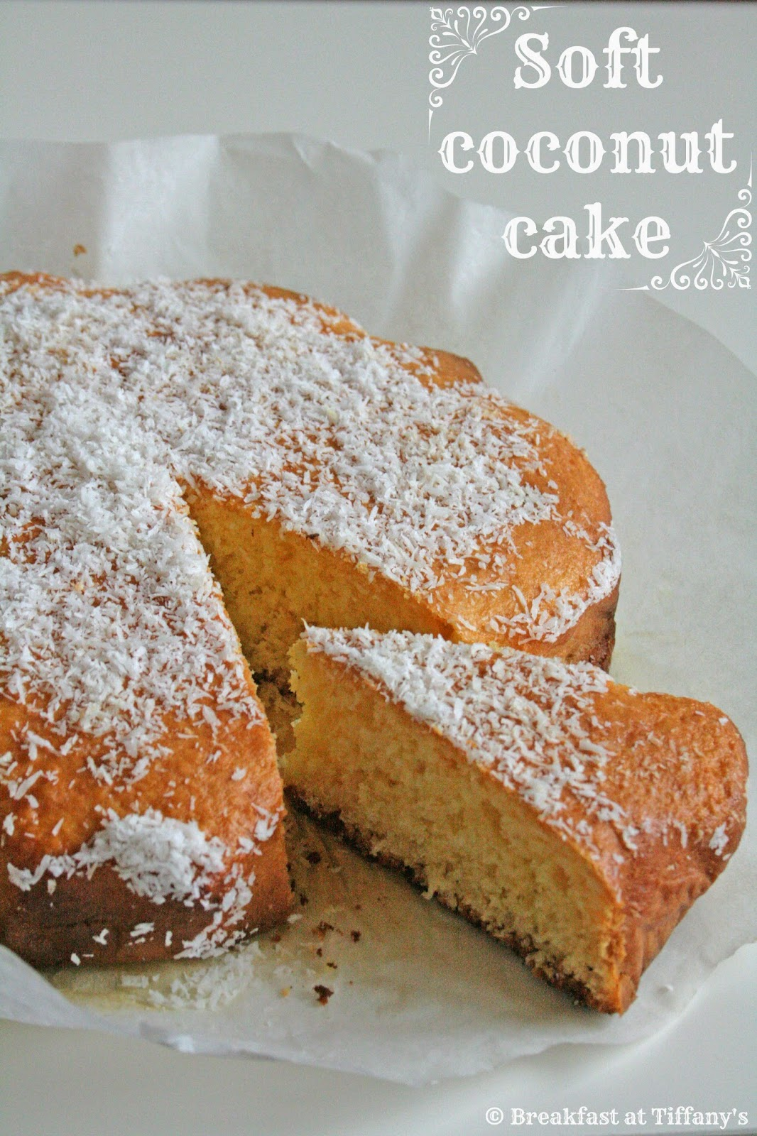 torta soffice al cocco / soft coconut cake recipe