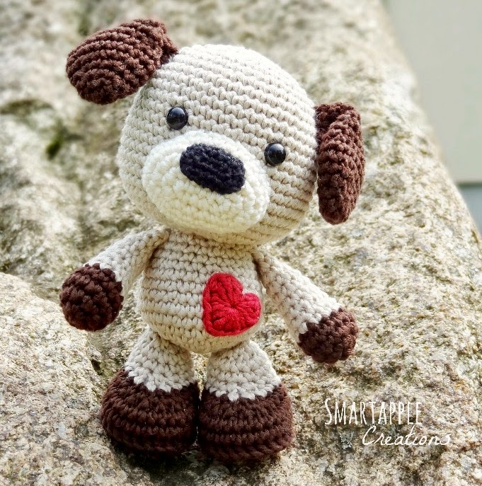 Free Pattern For Amigurumi Dog : Smartapple Creations - amigurumi and crochet: Amigurumi puppy