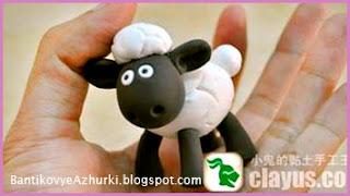 овца из пластики