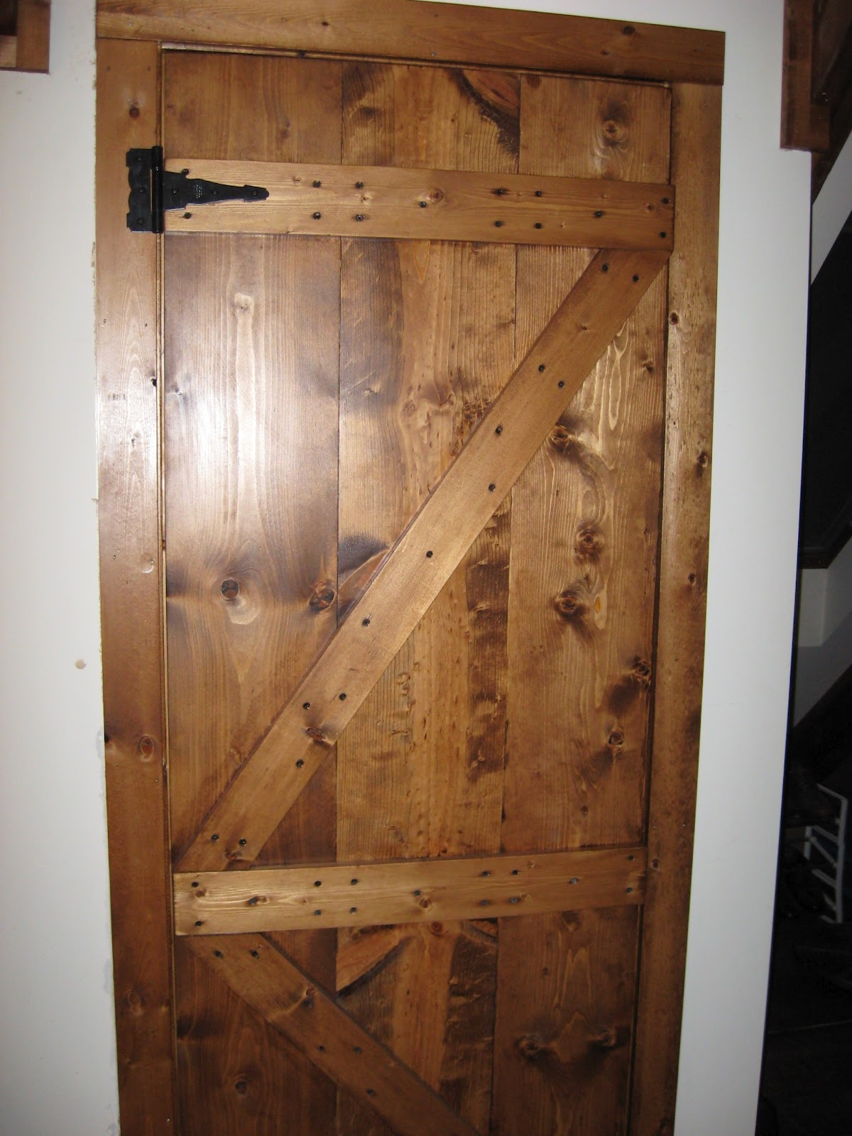 Dufour Woodworks Custom French Style Barn Door