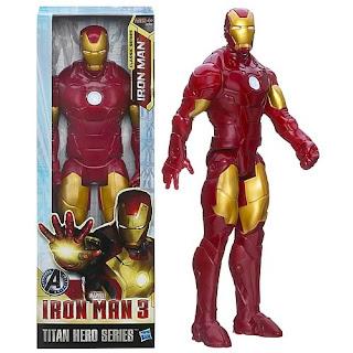 "Hasbro Iron Man 3 12"" Titan Hero Series figure"