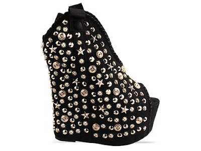 Jeffrey Campbell Kelsey High Stud in black / silver