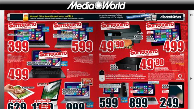 Expert audio: Volantino media world roma