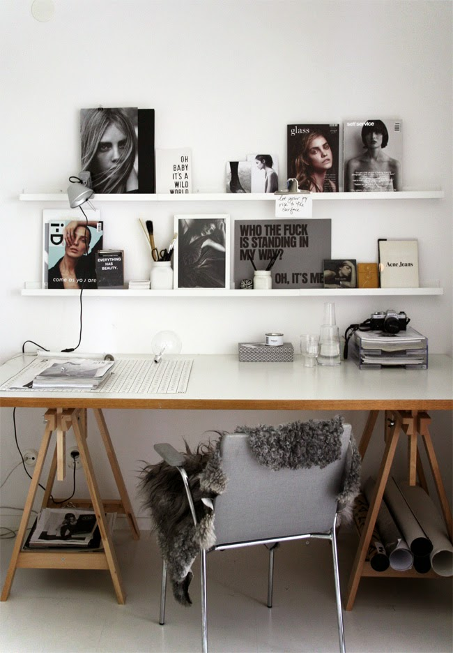 Home office work in progress stil inspiration bloglovin 39 for Home office inspiration pictures