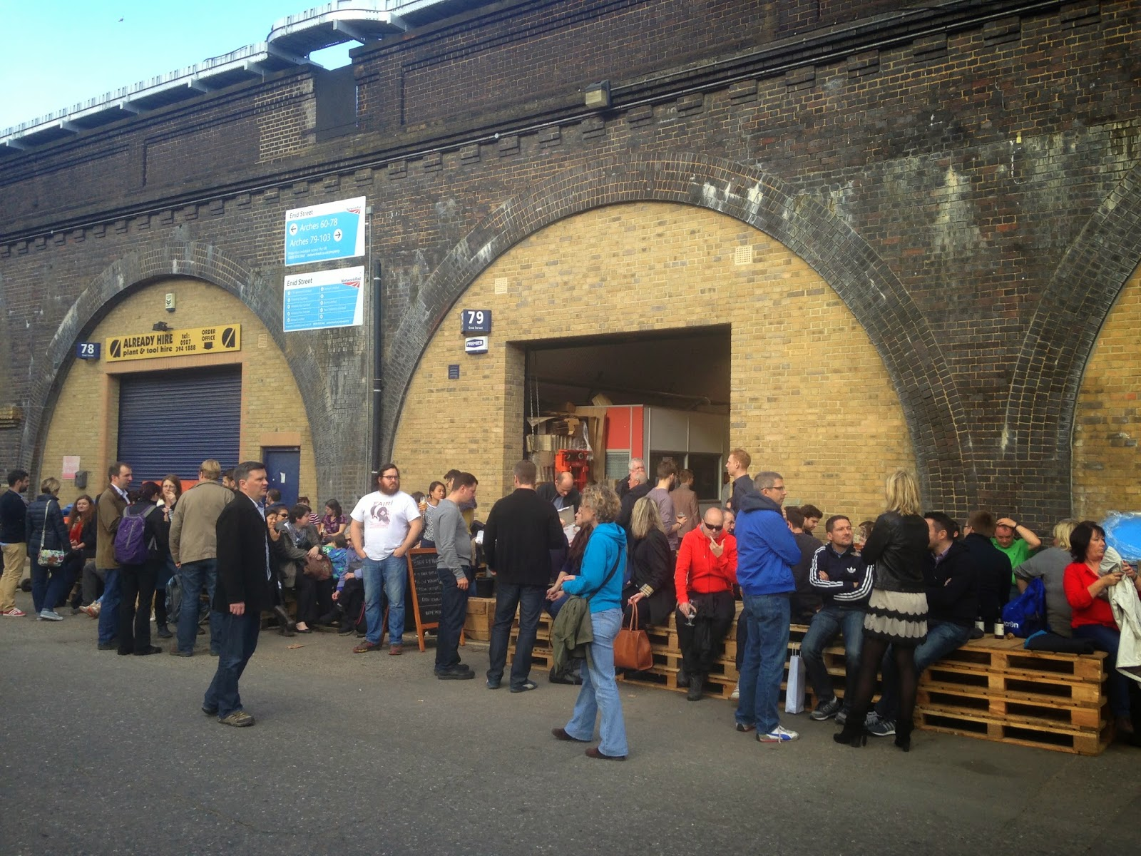 Xt brewing bermondsey beer mile for Craft beer tour london