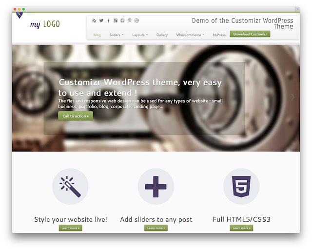 Customizr wordpress theme