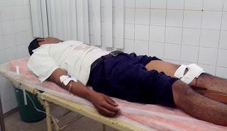 Jovem é Atropelado na Rua da Matriz em Limoeiro-PE
