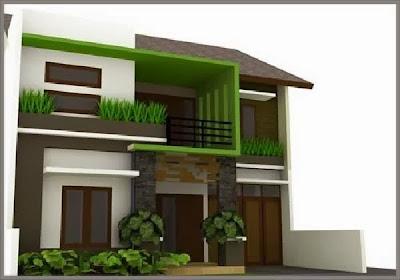 Desain Rumah Minimalis Perkotaan 6