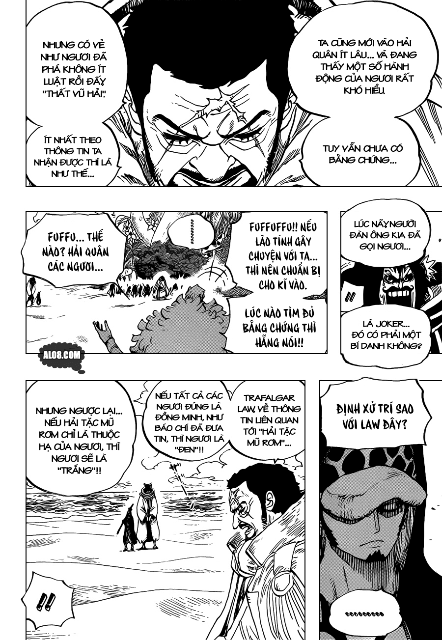 One Piece Chapter 713: Usoland 004