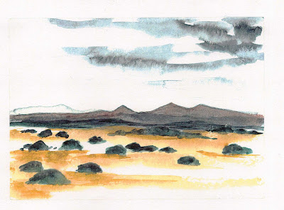 Damaraland landscape by Sophie Neville