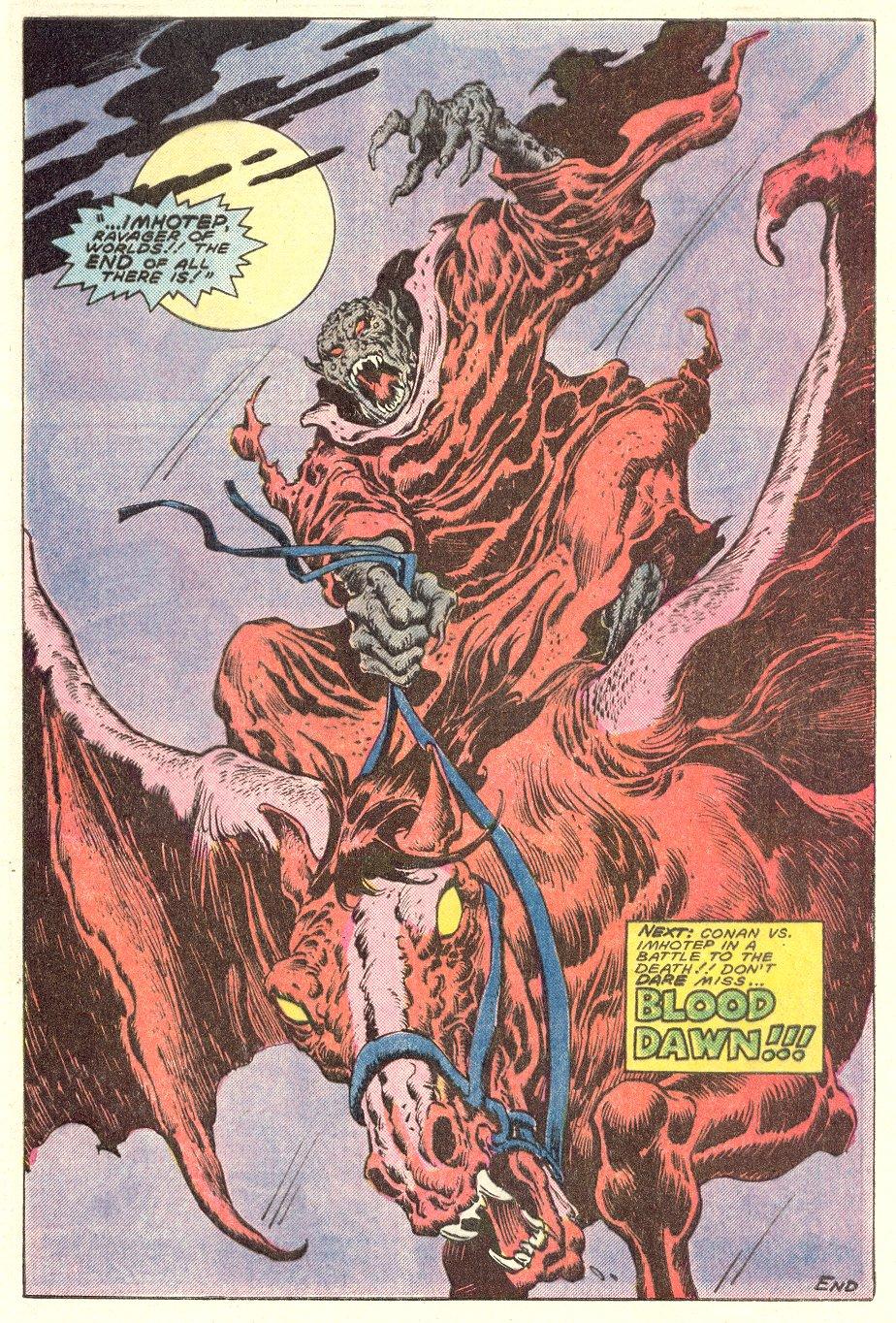 Conan the Barbarian (1970) Issue #182 #194 - English 24