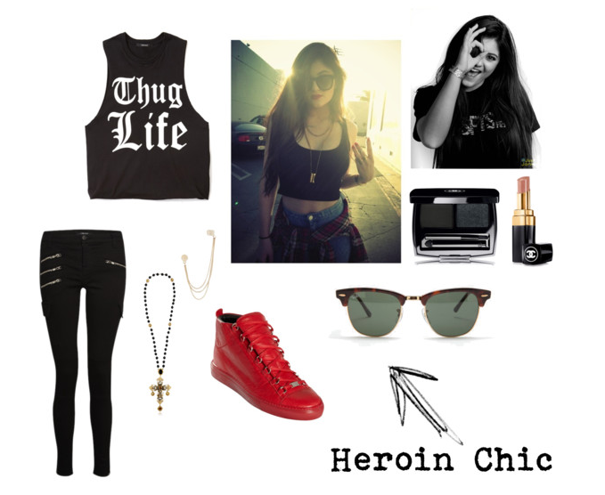 an introduction to the importance of heroin chic