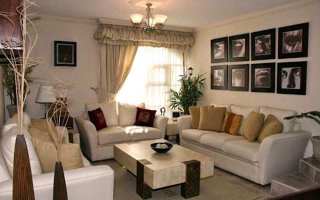 Gambar Interior Ruang Keluarga Rumah Sederhana