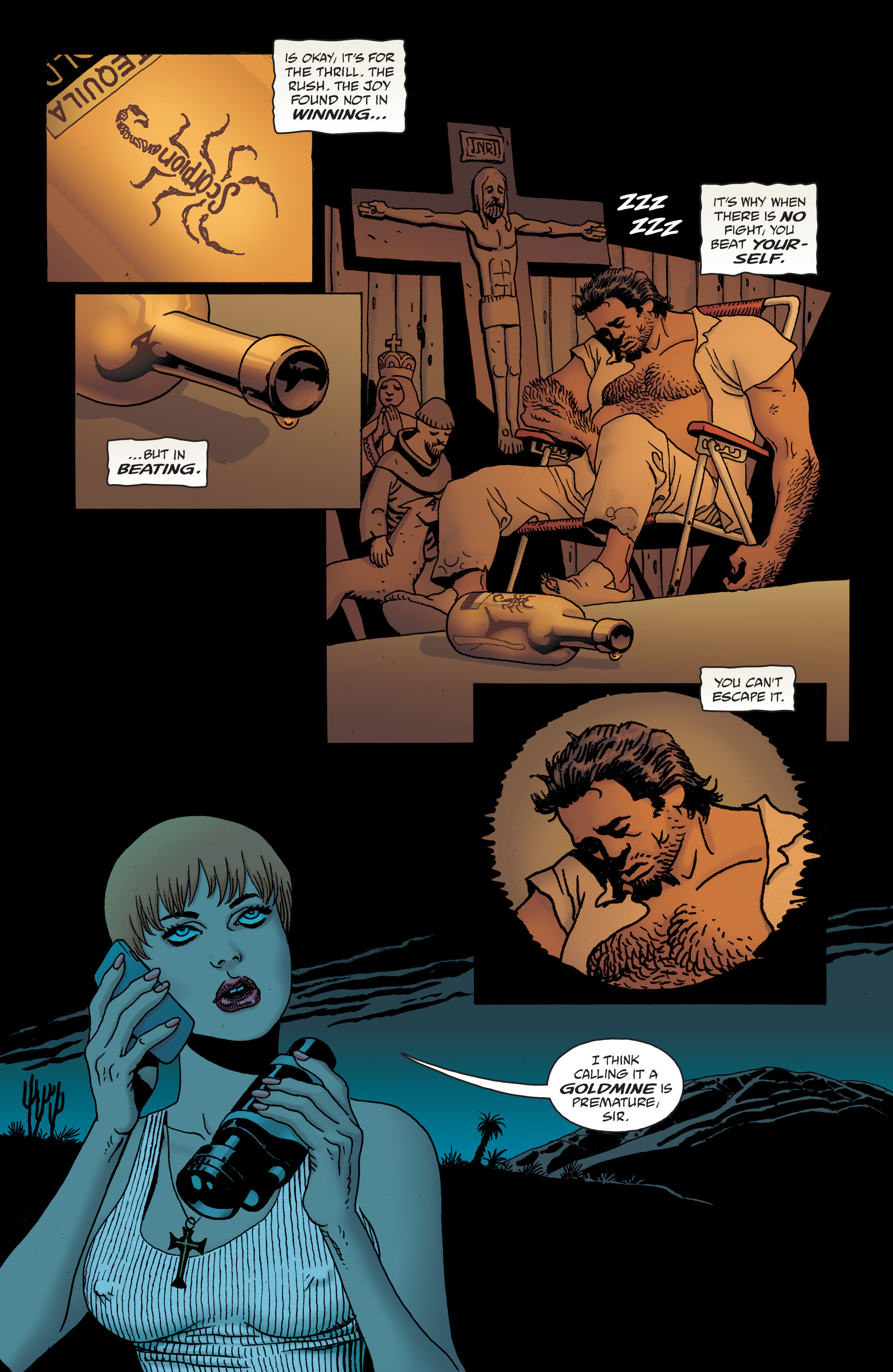 100 Bullets: Brother Lono Full Page 98