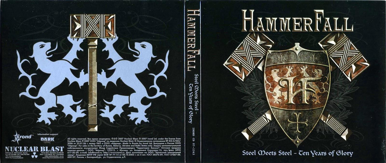 Music Life 2013: HammerFall - Steel Meets Steel - Ten Years Of Glory 2CD [APE] (2007)