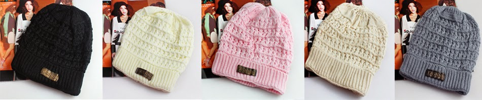 Winter Knitted Hat Caps,$5.79